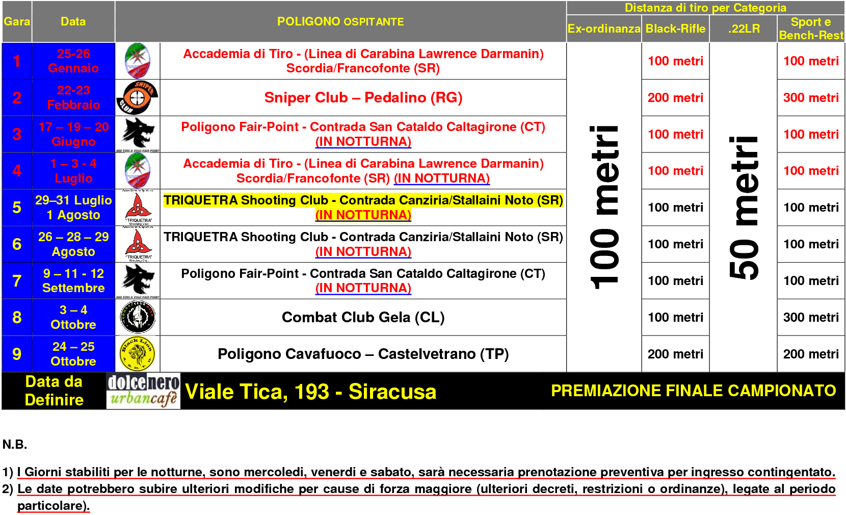 Calendario quinto campionato 2020docx1